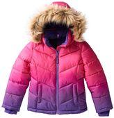Girls 4-16 SO® Dip Dyed Puffer Heavyweight Jacket