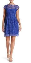 Nanette Lepore I Want You Crochet Shift Dress
