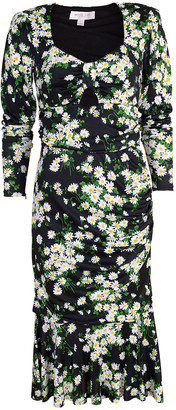 Michael Kors Ruched Asymmetric Dress