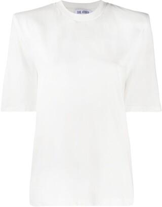 ATTICO structured shoulder T-shirt