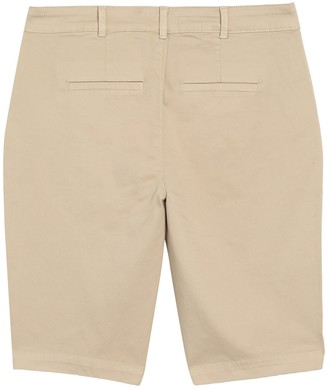 NYDJ Stretch Twill Bermuda Shorts