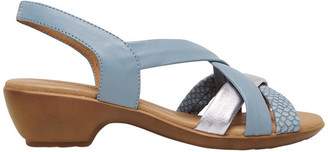 Supersoft By Diana Ferrari Demala Sky Blue Multi Sandal
