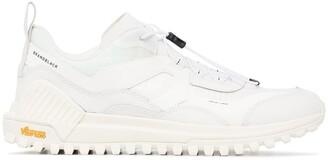Brandblack Sierra leather sneakers