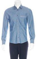 Alexander McQueen Chambray Button-Up Shirt