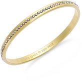 Kate Spade Crystal Pavé Idiom Bangle Bracelet