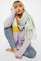 Free People Color My World Stripe Scarf