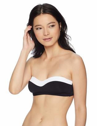 Jets Women's Classique Bandeau Bikini Top Swimsuit