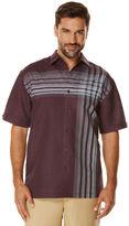 Cubavera Short Sleeve Engineered Shirt