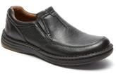 Dunham Black RevChase Leather Loafer - Men