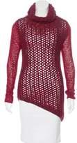 Helmut Lang Wool Open Knit Sweater