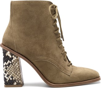 Vince Camuto Dreveri Square-Toe Lace-Up Boot - Excluded from Promotions