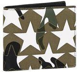 Valentino Star Camo Bifold Wallet