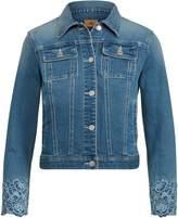 Lauren Ralph Lauren Ralph Lauren Embroidered Denim Jacket
