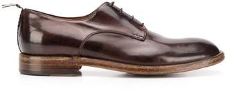 Silvano Sassetti Patent Lace-Up Shoes