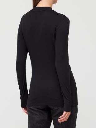 Very Long Sleeve Turtle Neck T-Shirt