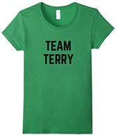 Women's TEAM Terry Friend, Family Fan Club Support T-shirt Large