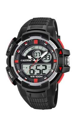 Calypso Watches Watches Unisex Adult Analogue-Digital Quartz Watch with Plastic Strap K5767/3