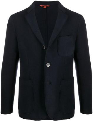 Barena Wool Blend Button Front Blazer