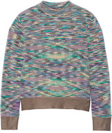 Missoni Crochet-knit Sweater - Purple
