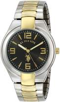 U.S. Polo Assn. Men's Two Tone Analogue Dial Expansion Watch USC80016