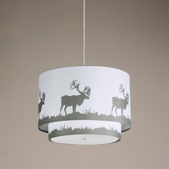 "Hudson 18""x13 Double Pendant Lamp"