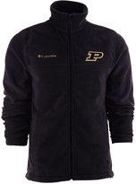 Columbia Men's Purdue Boilermakers Flanker Full-Zip Fleece