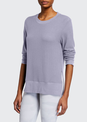 Alo Yoga Glimpse Long-Sleeve Top