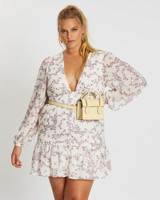 Mika Muse Talaya Textured LS Dress