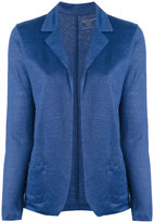 Majestic Filatures knitted blazer - women - Linen/Flax - 1