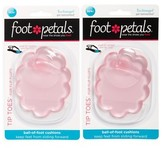 Foot Petals Women's Tip Toes For Flip Flops 2-Pack