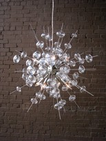 "The Well Appointed House 7C Nickel ""Bubbles"" Chandelier"