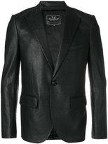 Unconditional peaked lapel blazer - men - Silk/Cotton - S