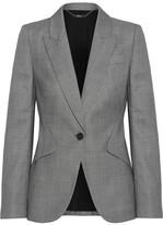 Alexander McQueen Wool-jacquard Blazer
