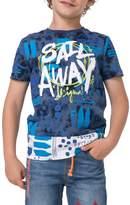 Desigual Sail Away Cotton T-Shirt