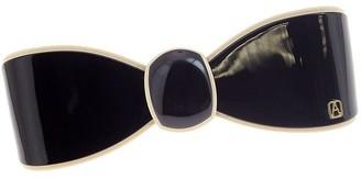 Alexandre de Paris Hair Slide Souvenir Black 8Cm