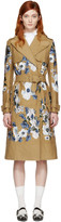 Erdem Tan Susan Trench Coat