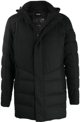 HUGO BOSS Padded Zip-Up Down Jacket