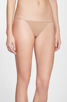 Calvin Klein Women's Sleek G-String Thong