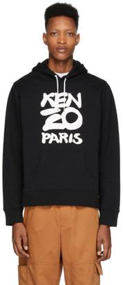 Kenzo Black Paris Hoodie