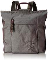 Mandarina Duck Md 20 Lux Tracolla, Women's Backpack, Grau (Rainbow), 9x34x32 cm (B x H T)