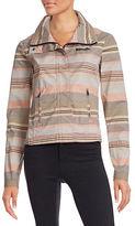 Bench Stripe Funnel Neck Jacket