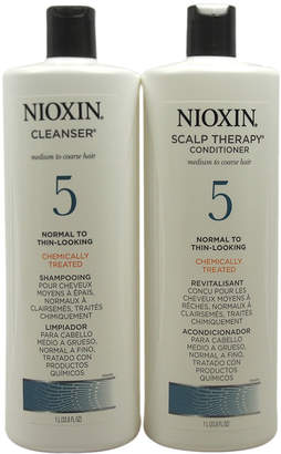 Nioxin System 5 Cleanser & Scalp Therapy Conditioner Set