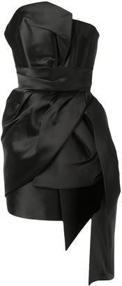 The 2nd Skin Co. Draped Mini Dress