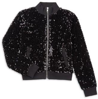 MIA New York Girl's Lux Sequin Jacket