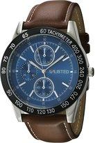 UNLISTED WATCHES Men's 'Classic' Quartz Metal Casual Watch, Color:Brown (Model: 10027780)