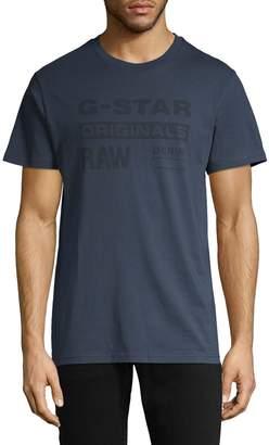 G Star Raw Graphic Cotton Tee