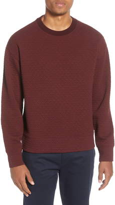 Club Monaco Deco Quilted Sweatshirt