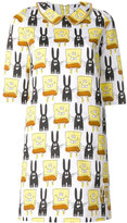 Peter Jensen Spongebob printed dress - women - Cotton - S