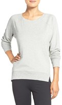 Zella Women's 'Luxesport' Long Sleeve Sweatshirt