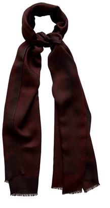 Eton Red Viscose & Silk Scarf - Fit